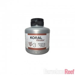 Comprar Alimento para corales Xaqua Koral Filtrator - 3 online en Barcelona Reef